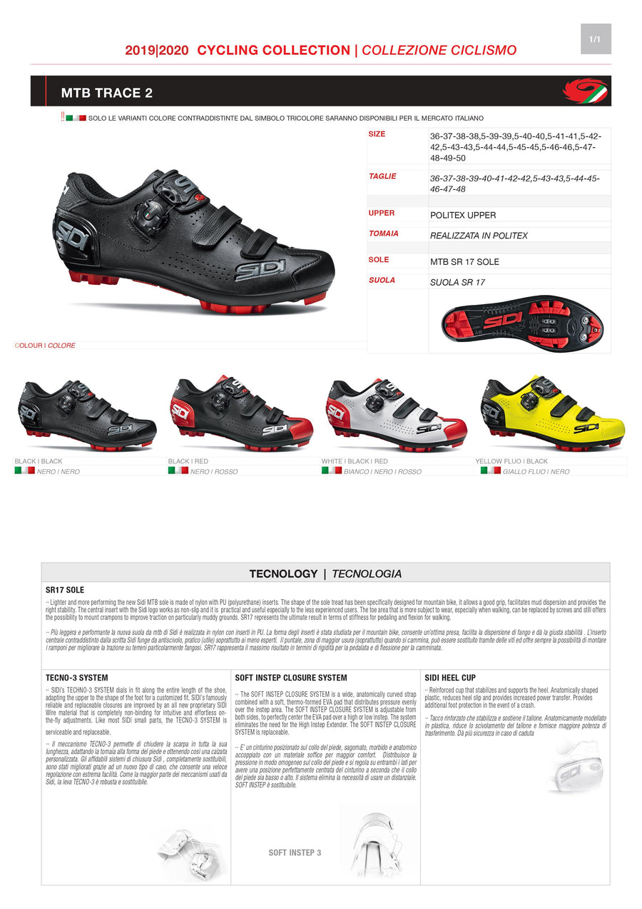 PARTS KIT - SIDI MOUNTAIN | TRACE 2