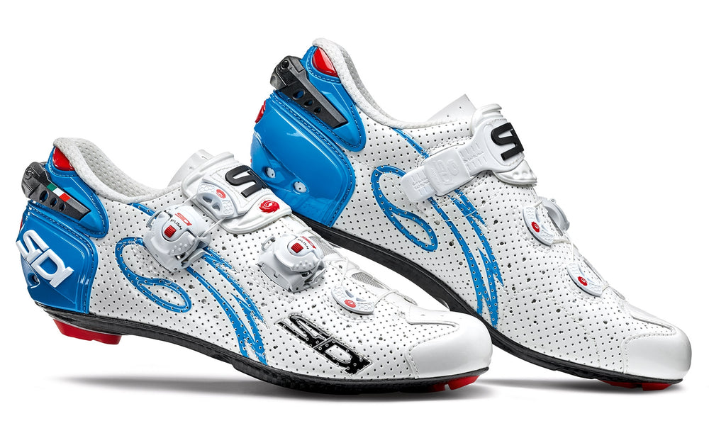 SIDI Road Woman | WIRE - White/Blue