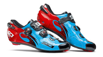 SIDI Road | WIRE - Blue Sky/Black/Red