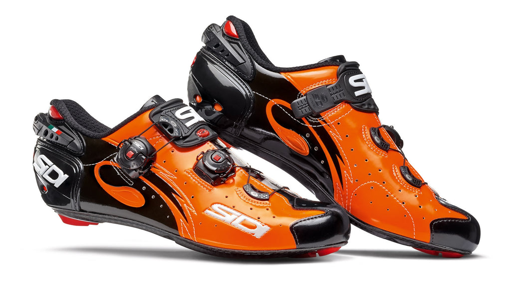 SIDI Road | WIRE - Orange/Black