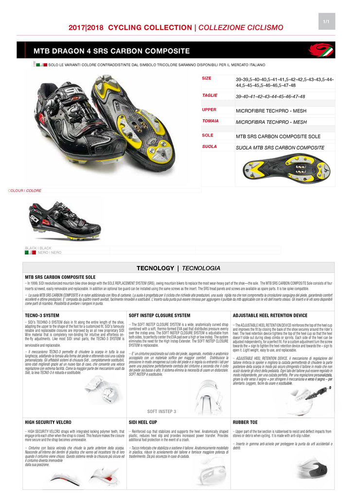 SIDI Mountain | DRAGON 4 - Black