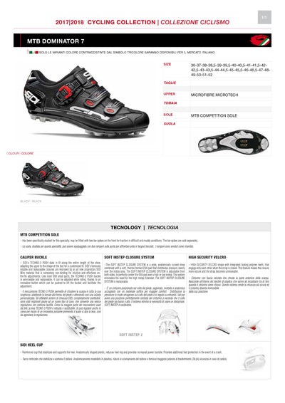 SIDI Mountain | DOMINATOR 7 - Black