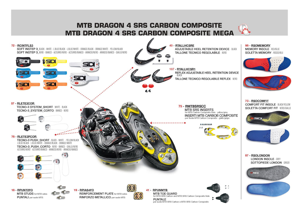 SIDI Mountain | DRAGON 4 MEGA - Black