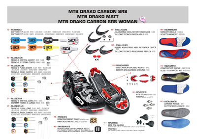 SIDI Mountain | DRAKO SRS - Black