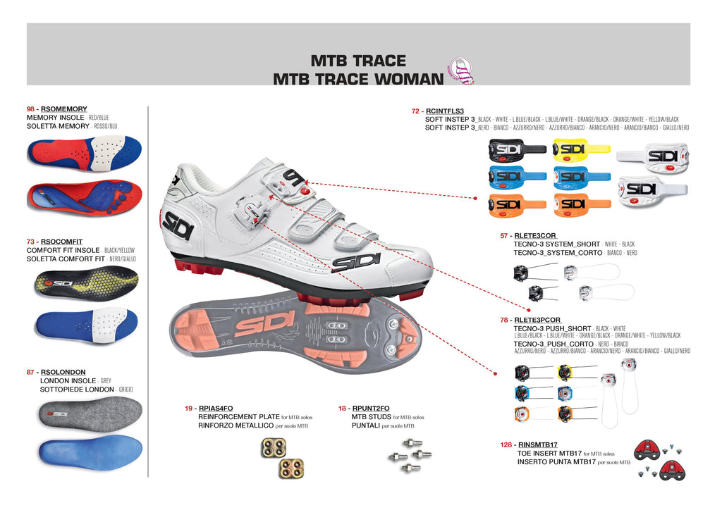 SIDI Mountain Woman | TRACE - Black