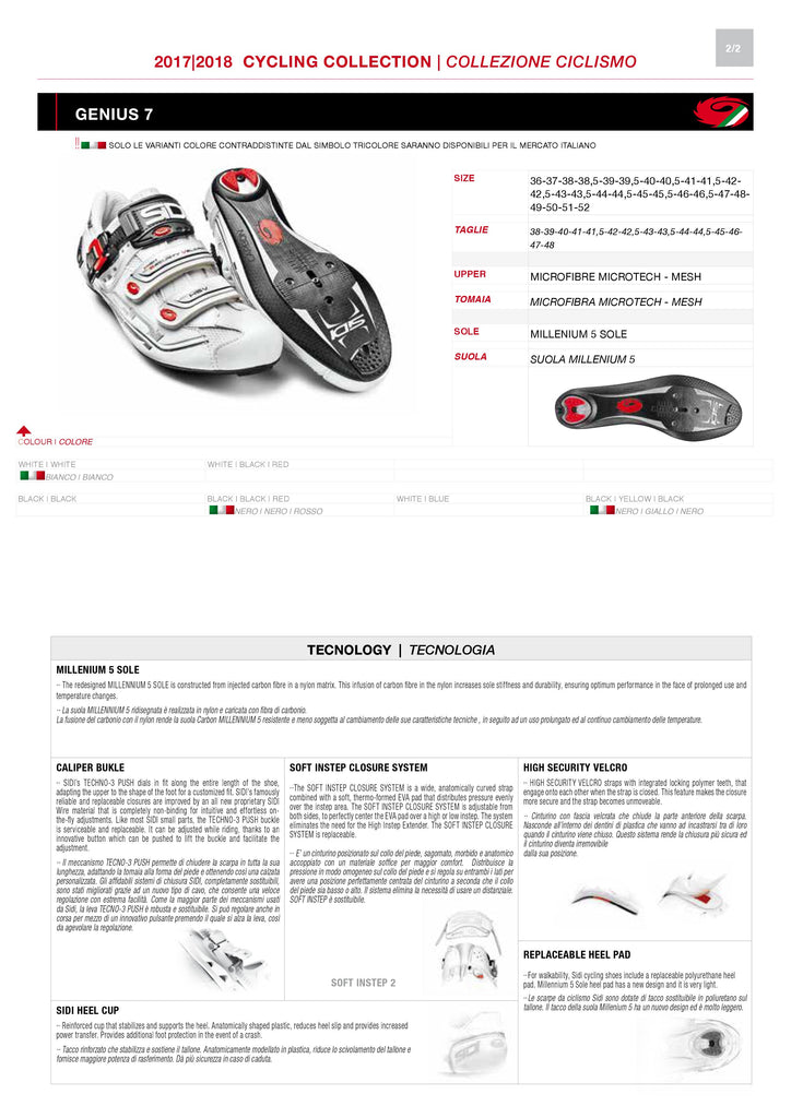 SIDI Road | GENIUS 7 - White