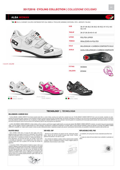 SIDI Road Woman | ALBA - Black
