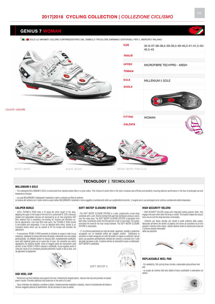 SIDI Road Woman | G7 - Black