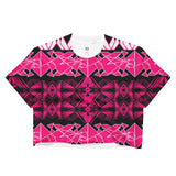 BXBDESIGNS Disco Crop Top