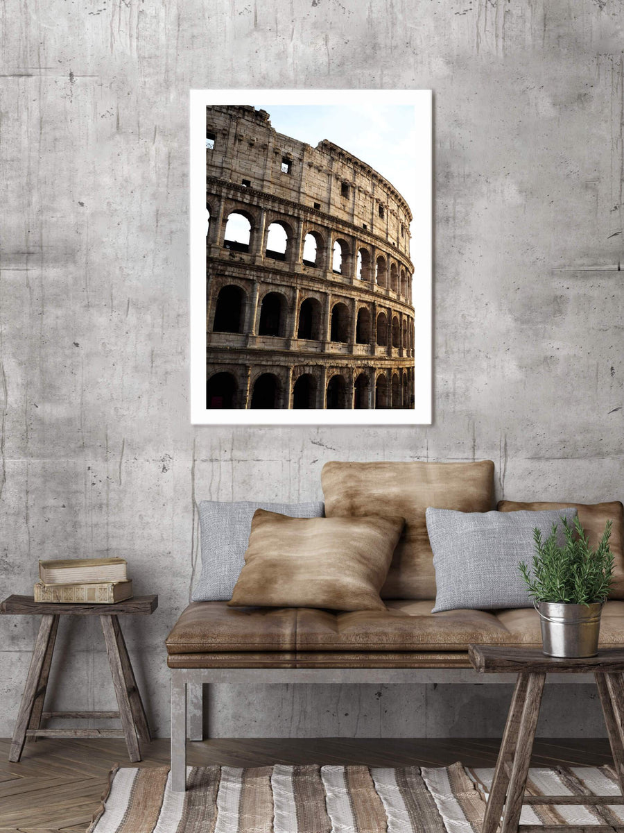 Posters & Prints - COLLOSEUM POSTER