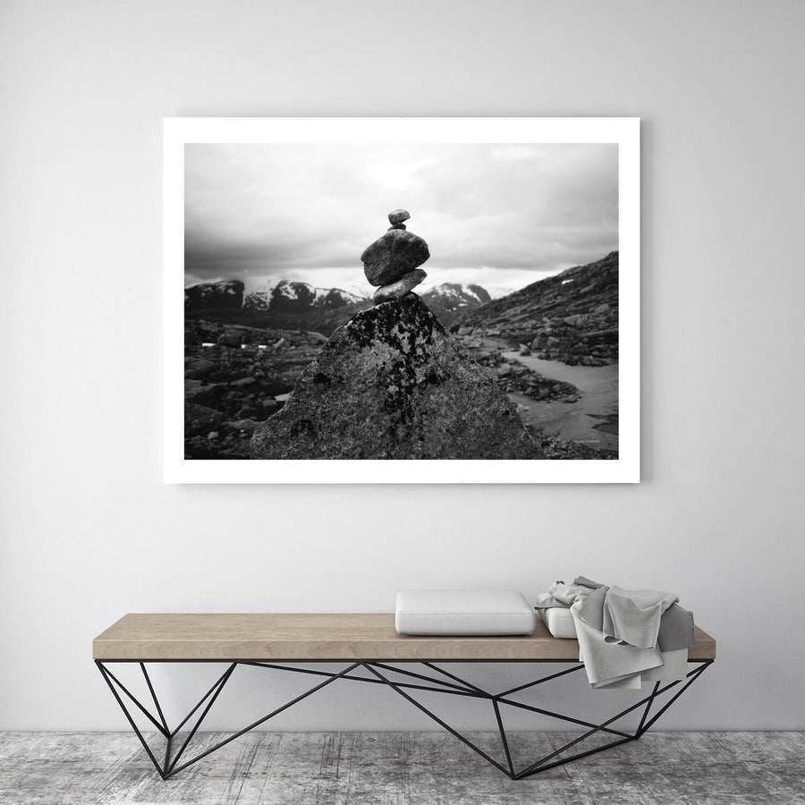 Posters & Prints - ROCKS IN NORWAY POSTER