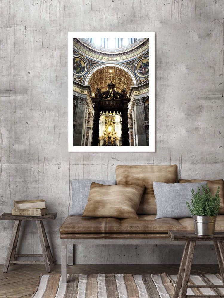 Posters & Prints - ST PETERS BASILICA POSTER