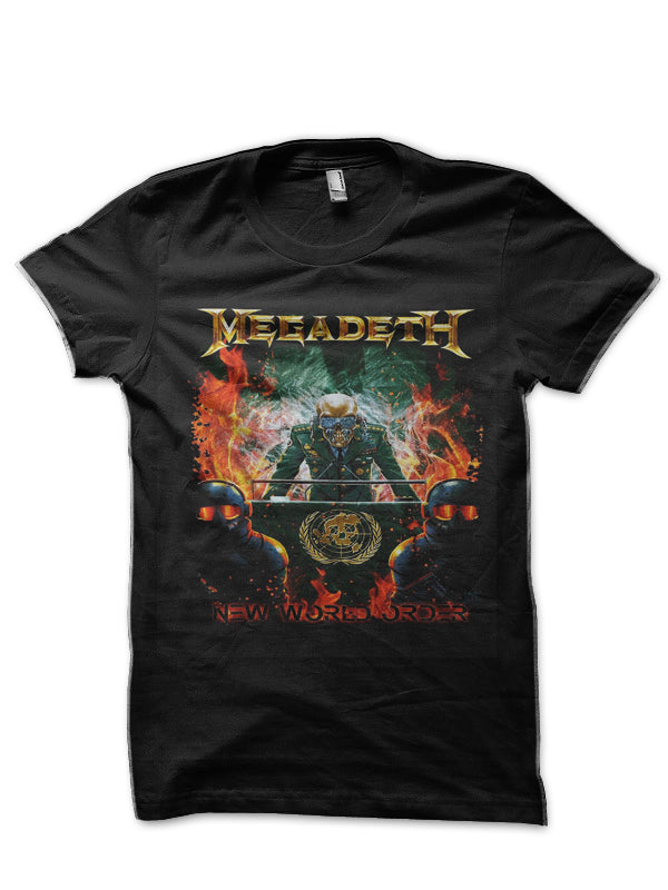 Behemoth Megadeth  23-100% COTTON