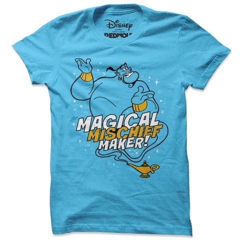 Aladdin Genie Magical Mischief Maker T Shirt-100% COTTON