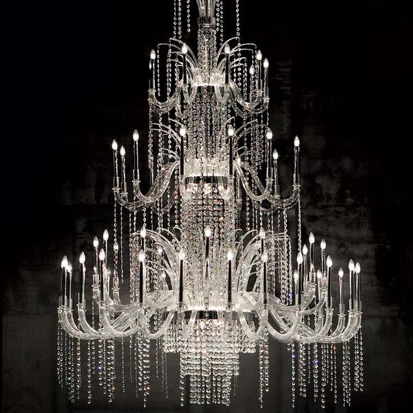 Large chandeliers