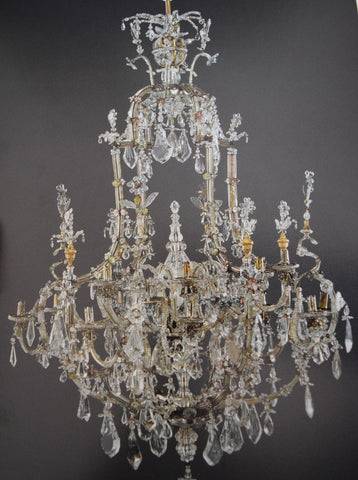 As Will Be Discussed Manufacturers Later Found A More Affordable Way To Decorate Chandeliers Using Glass However Quartz Continued Used Produce