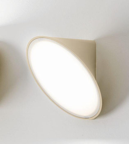 Orchid LED wall and ceiling light in sand from Axo Light