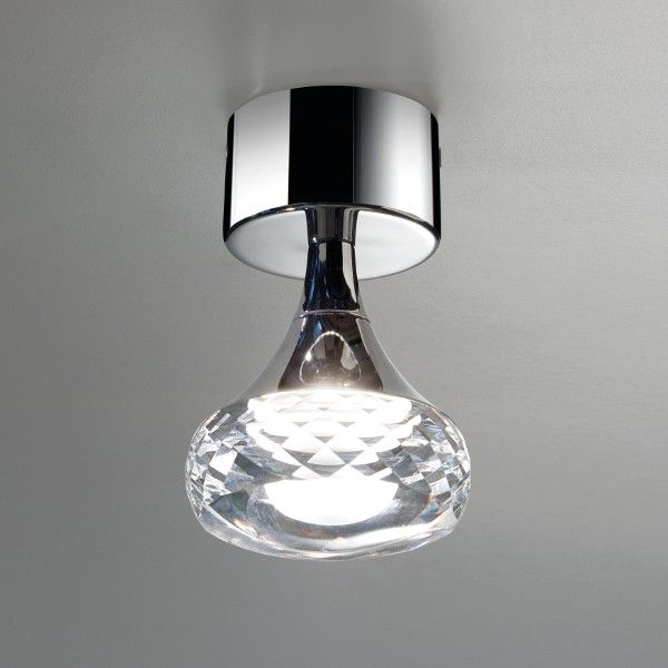 Clear Glass Fairy Pl From Axolight Small Crystal Ceiling Light Italian Lighting Centre
