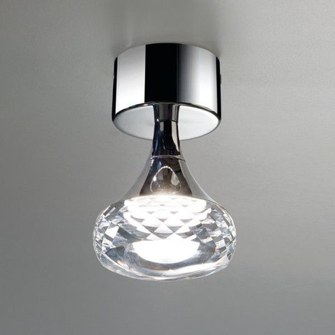Fairy PL clear glass ceiling light from Axo Light