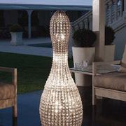 Brillo 125 cm glass crystal floor light from Marchetti