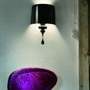 Modern aluminium and wood wall light from  in 6 colours