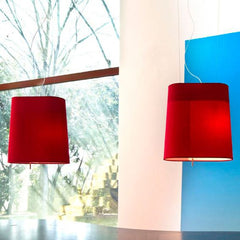 Loft S5 red black or white pendant from Prandina