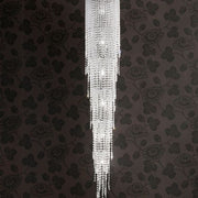 Modern 230 cm crystal stairwell light