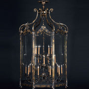 22 Light Brass Lantern