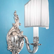 Traditional Italian Silver Wall Sconce