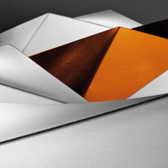 Axolight Ukiyo PL110 black, white or orange wall & ceiling light