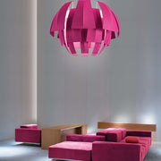 Plumage fabric pendant from Axo Light in 8 colours