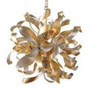 Silver & Gold Sun-inspired Chandelier