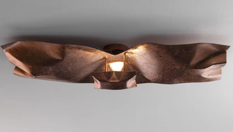 Modern Hand Crafted Metal Ceiling and Wall Light