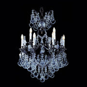 12 Light Bohemian crystal chandelier