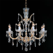 Maria Theresa 9 light Swarovski crystal Italian chandelier