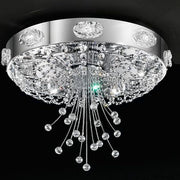 Elegance Chrome and Swarovski Ceiling Lamp