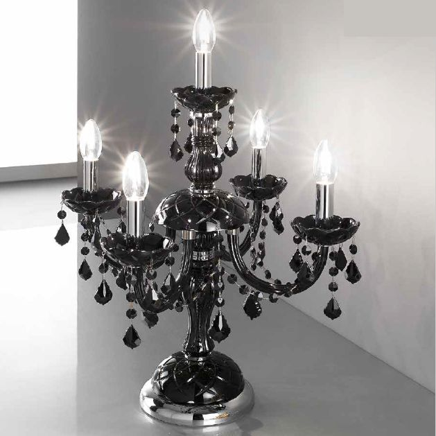 Crystal Chandelier Table Lamp | Wayfair