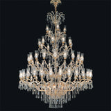 Maria Theresa 80 light Swarovski 2 tier Italian chandelier