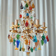 Venetian Fruit Chandeliers