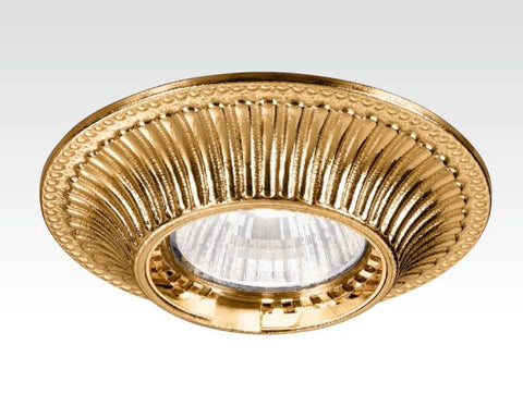 Gold Recessed Light Fitting