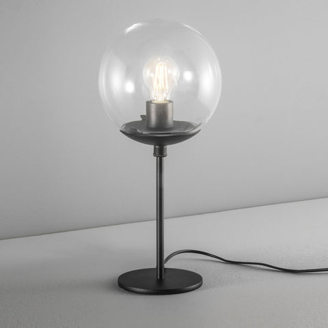 Globe table and wall light