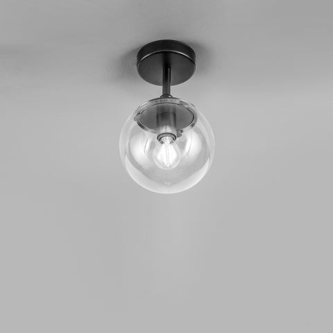 Globe recessed ceiling pendants