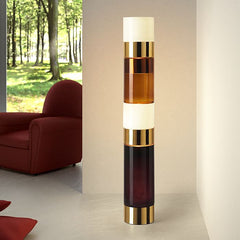 Modern Murano glass stacking light from Leucos