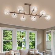 Estro glass globe ceiling light