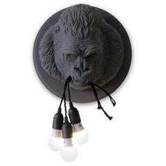 Gorilla Ceramic Wall Lamp