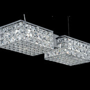 Modern 30% lead crystal dining table chandelier
