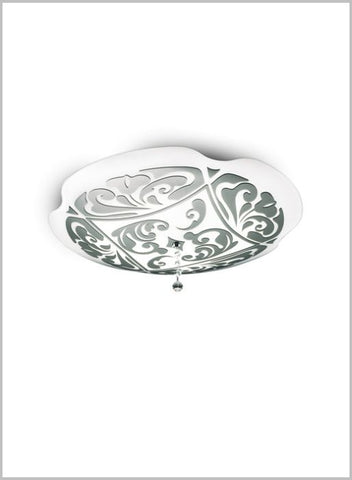 Charme P/PL50 wall or ceiling light in 3 finishes from Leucos