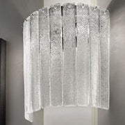 Cast Glass Wall Light