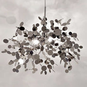 Argent 40 cm metal disc ceiling light by Terzani