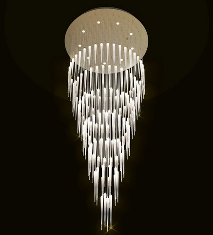 3 Metre Stairwell Chandelier by Beby